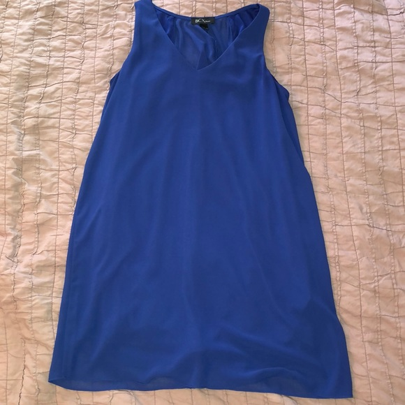 BCX Dresses & Skirts - Beautiful blue dress with simple detail on back